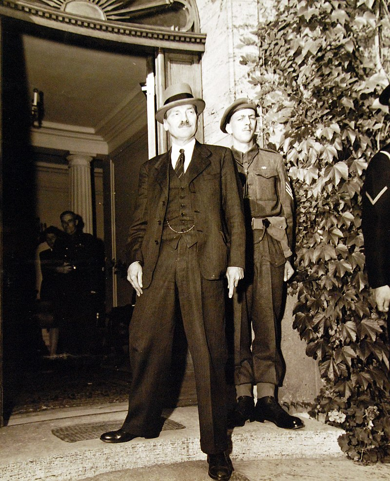 The Potsdam Conference - July 28th 1945 - UK Prime Minister Clement Attlee arrives to replaces Winston Churchill as head of the UK Delegation/Image: US National Archives and Records