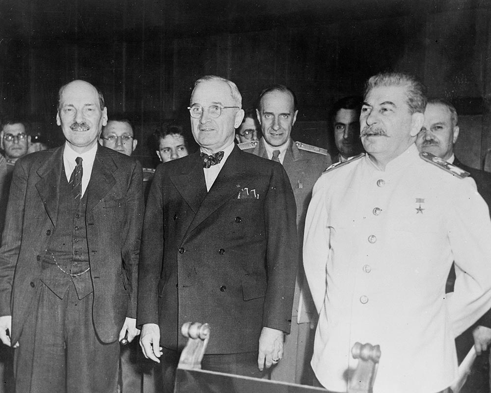 The Potsdam Conference - July 28th 1945 - The New Big Three