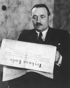 The Potsdam Conference - July 29th 1945 - Bolesław Bierut - Polish politician, communist activist and leader of the Polish People's Republic between 1947 and 1956