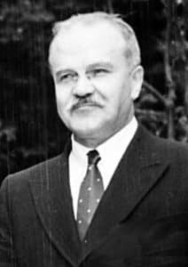 The Potsdam Conference - July 29th 1945 - Soviet Foreign Minister Molotov - Stalin's right hand man at the Potsdam Conference