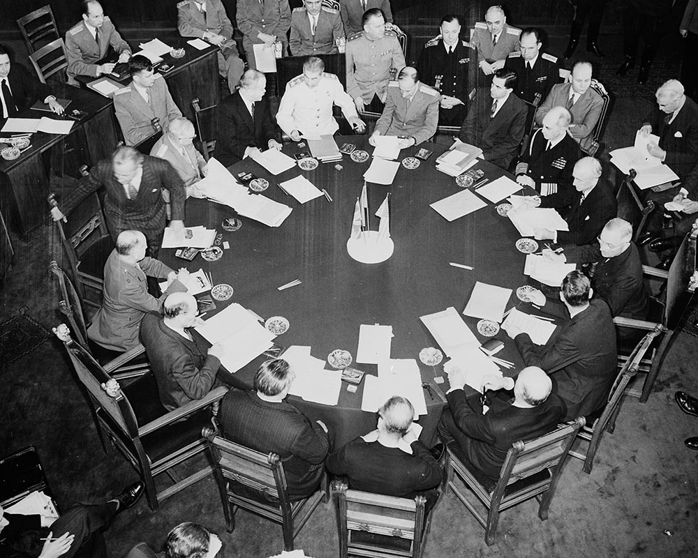 Potsdam Conference - July 31st 1945 - Settling The Polish Question