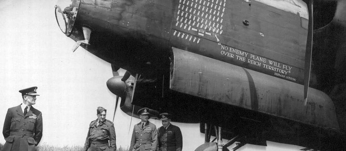 Lancaster Bomber - Battle of Berlin