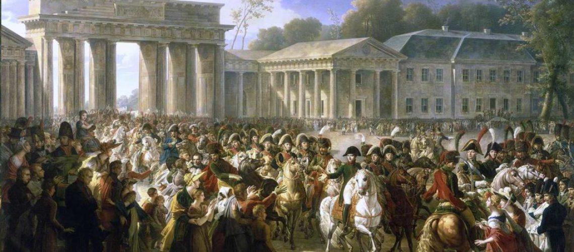 Napoleon Arrives In Berlin - 1806
