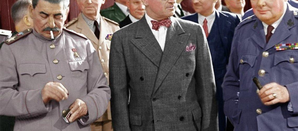 Berlin Experiences - The Big Three In Potsdam (Truman, Stalin, Churchill)
